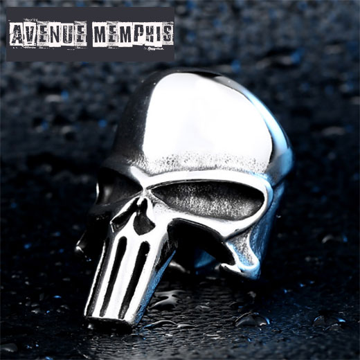 Bague the Punisher tete de mort
