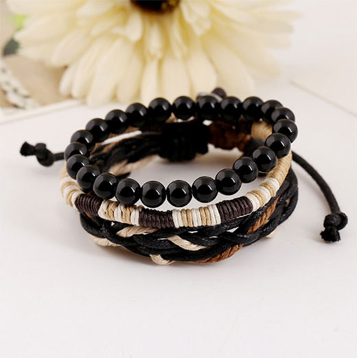 Bracelet corde multiple
