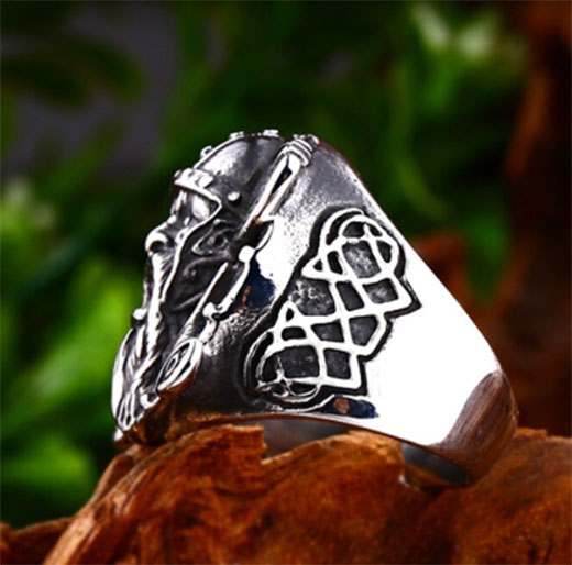 Bague chevaliere viking