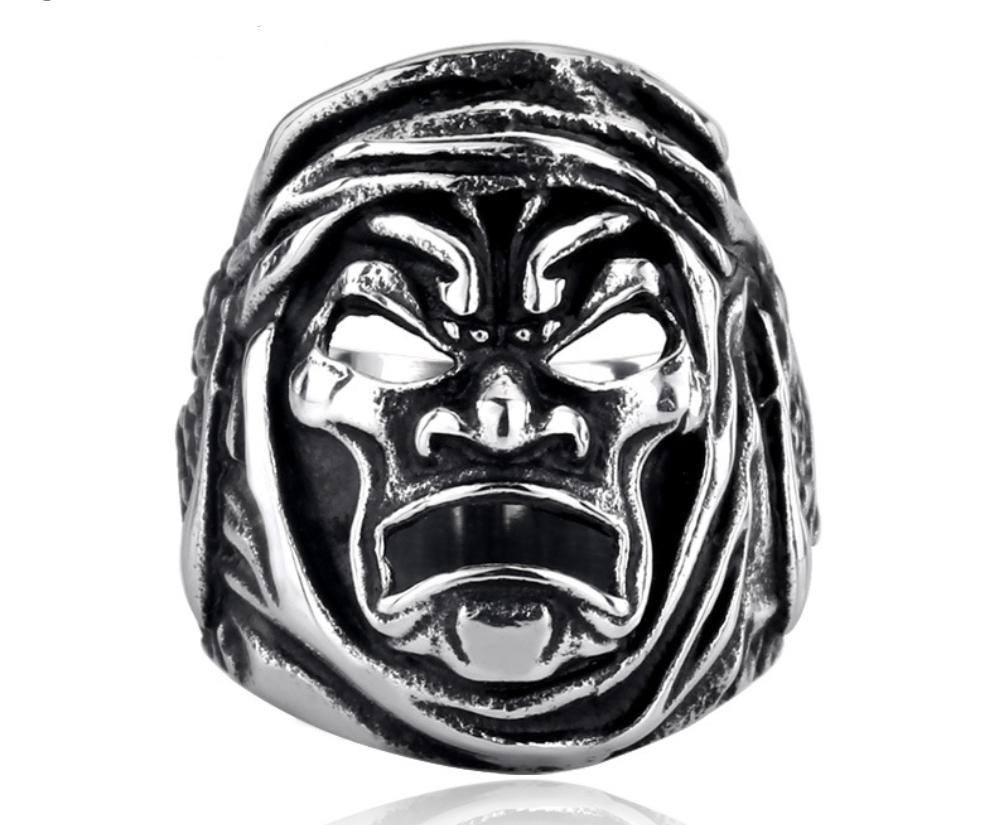 Bague demon guerrier chinois